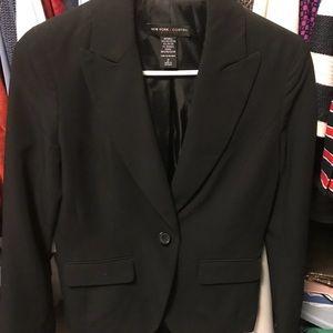 Women's black blazer, New York & Company, size 2